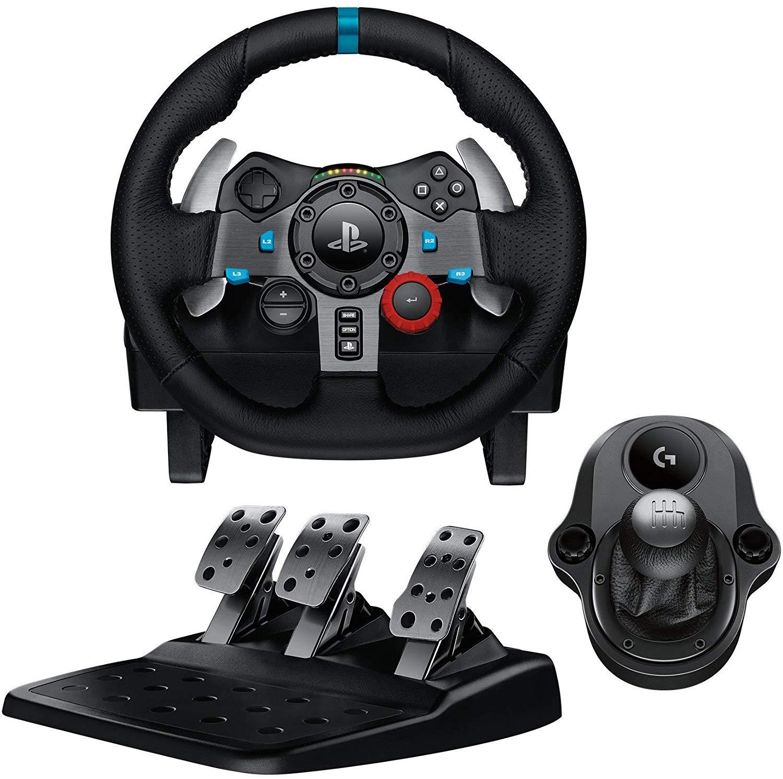 Volant de Course Logitech G29 Driving Force + Levier de vitesse Driving Force
