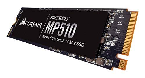 SSD interne NVMe PCIe Corsair Force MP510 Gen3 x4 M.2-SSD - 480 Go