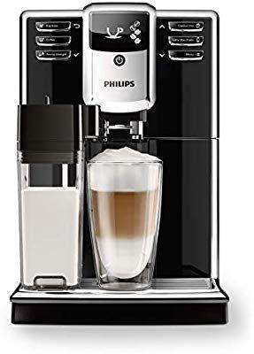 Machine à expresso automatique Philips EP5360/10 S5000 noir avec carafe à lait
