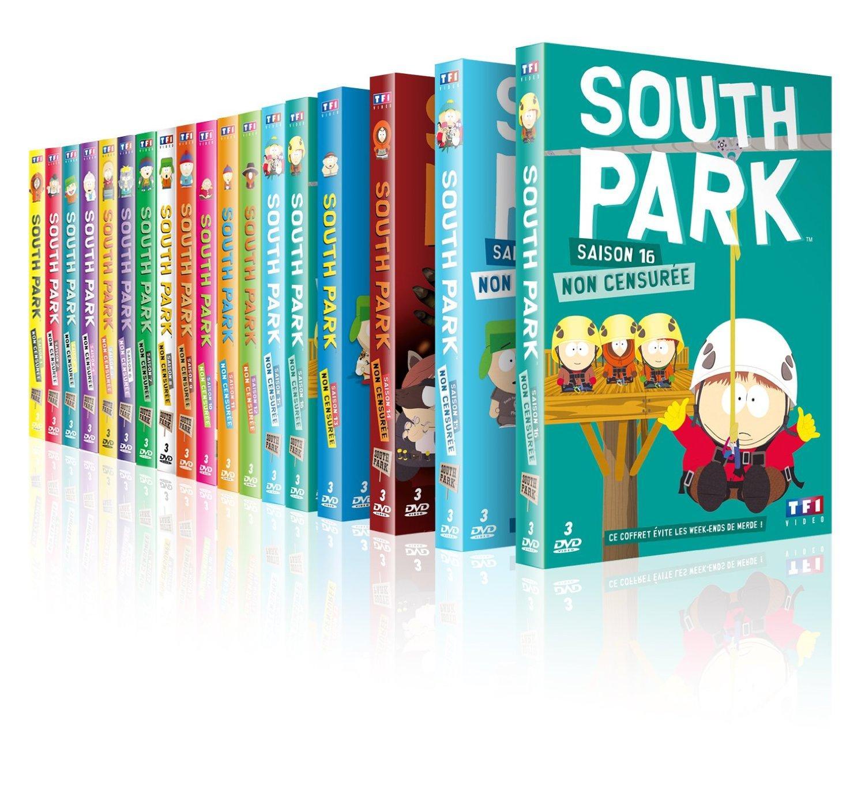 Coffret DVD : South Park - Intégrale reconstituée, Saison 1 à 16