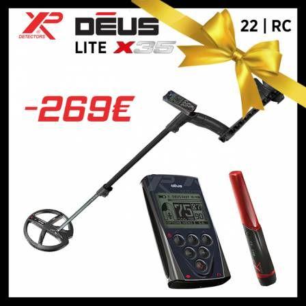 Détecteur XP Deus Lite X35 : 22-RC (maisondeladetection.com)