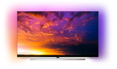 """TV 65"""" Philips 65OLED854 - 4K UHD; Oled, Ambilight 3 côtés Android"""