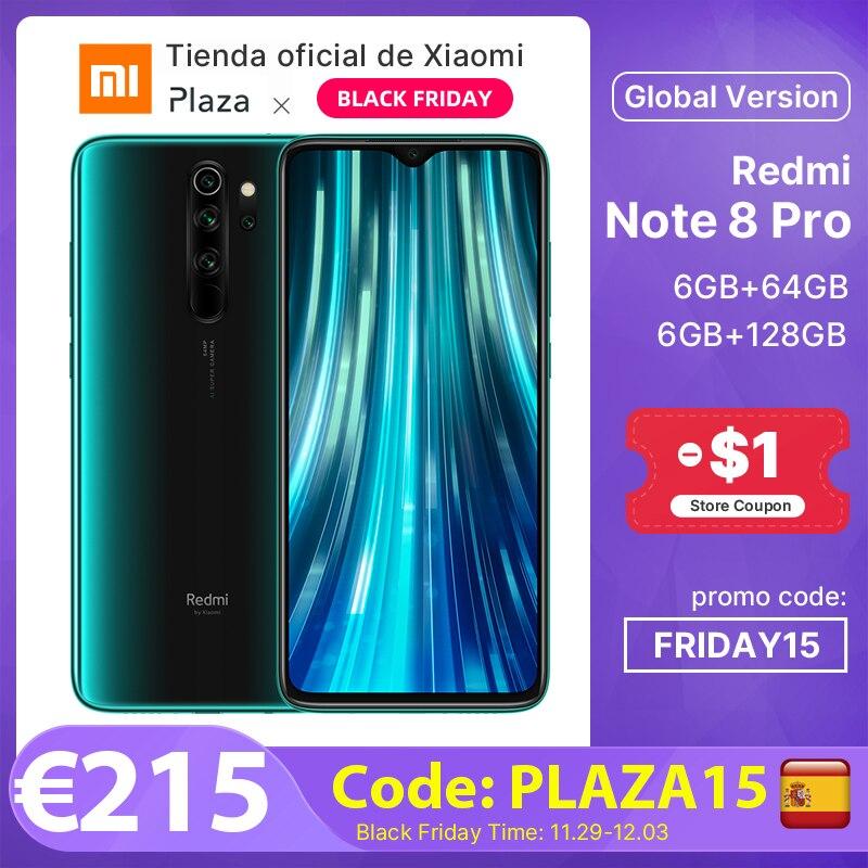 "Smartphone 6.53"" Redmi Note 8 Pro - 128 Go avec Assurance Allianz"