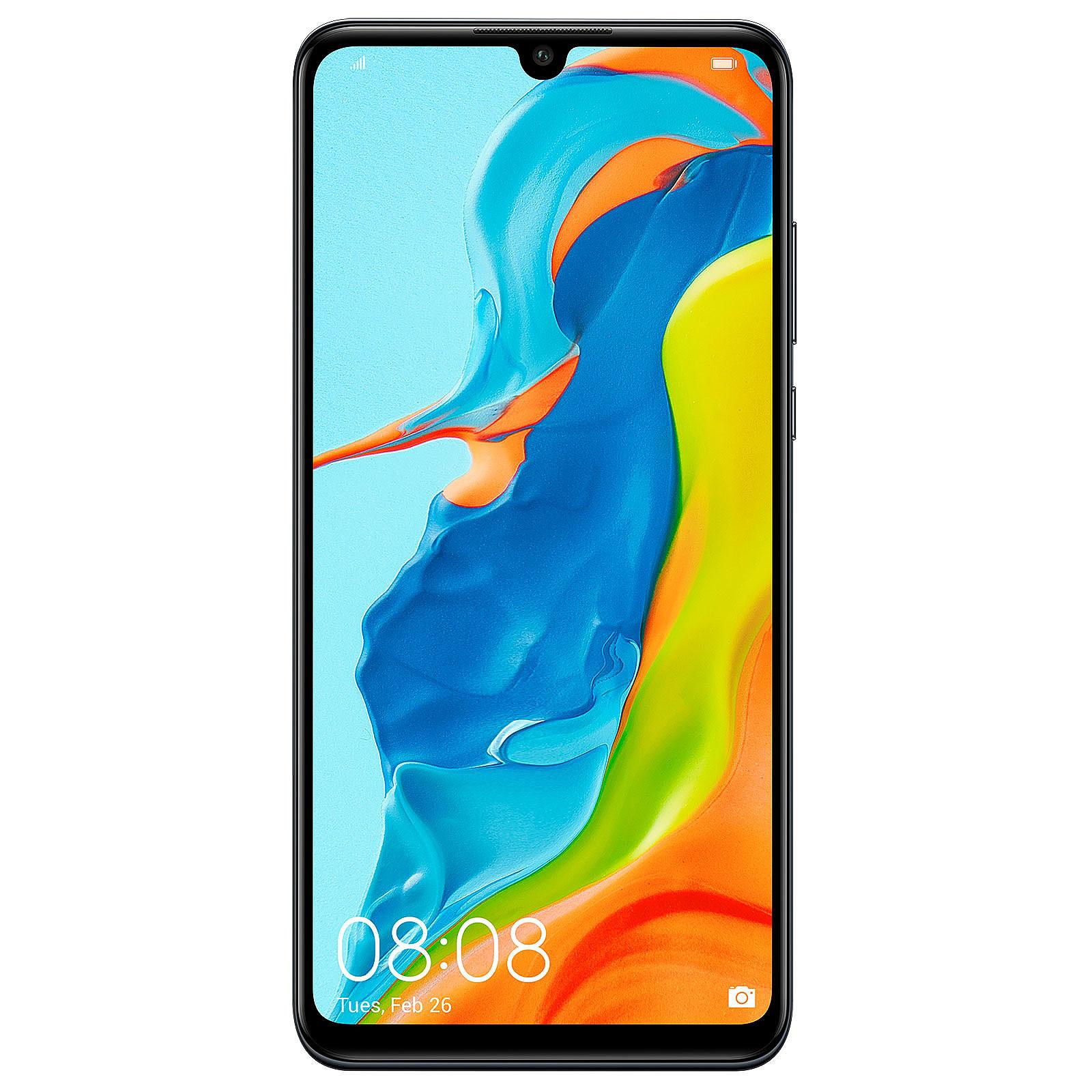 "Smartphone 6.15"" Huawei P30 Lite (B20) Noir - Full HD+, Kirin 710, RAM 4 Go, ROM 128 Go (179.99€ avec le code BF19 + 18€ en SuperPoints)"
