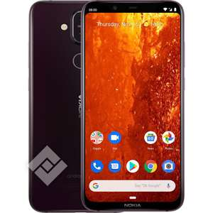 Smartphone Nokia 8.1 6.18'' 64go 4go RAM Android One (Frontaliers belge)