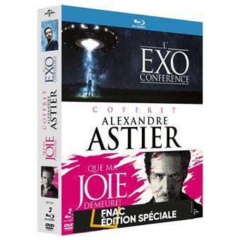 Coffret Bluray Alexandre Astier Que ma joie demeure + L'exoconférence édition Fnac
