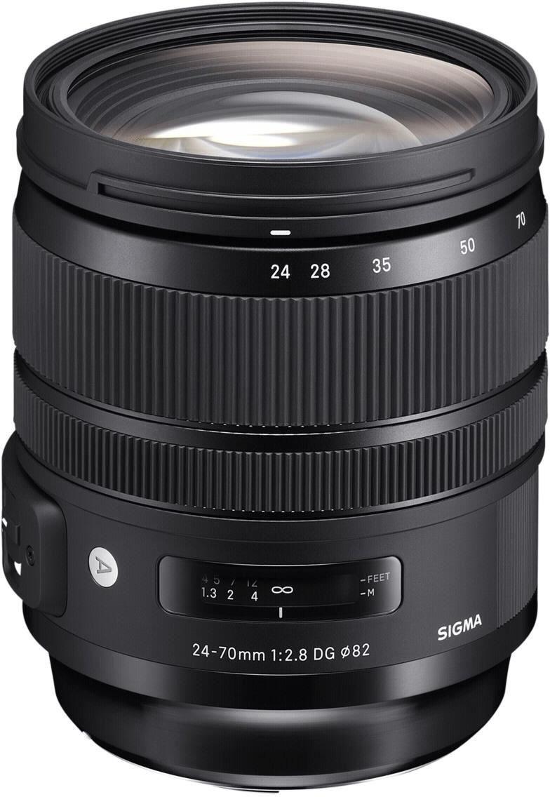 Objectif photo Sigma 24-70 mm F2,8 DG OS HSM Art - Canon