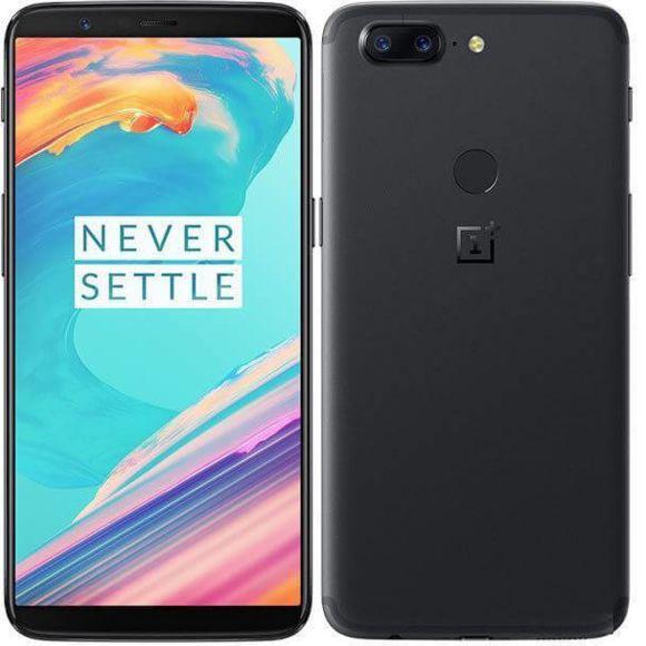 Smartphone Oneplus 5T - 6 / 64 Go - Noir (vendeur tiers)