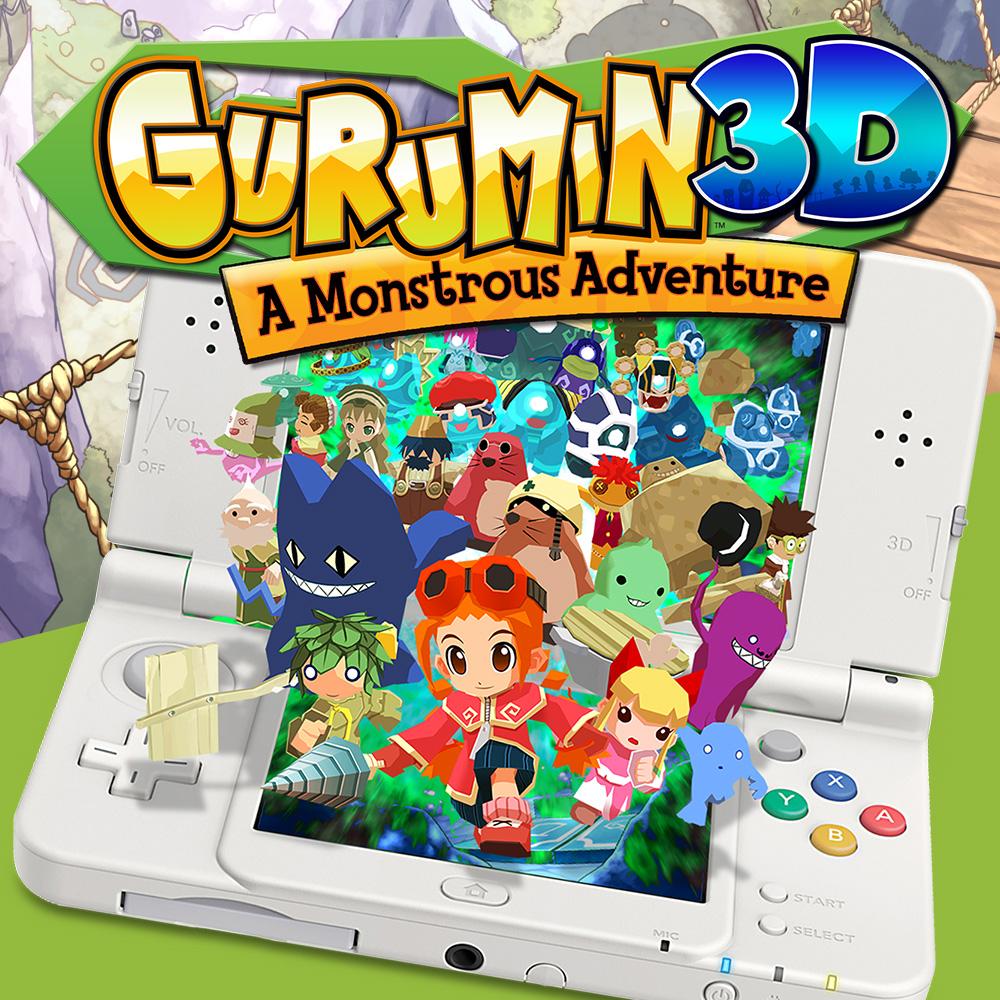 Gurumin 3D: A Monstrous Adventure sur Nintendo 3DS (Dématérialisé)