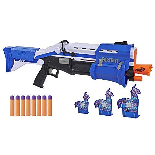 Pistolet à fléchettes Nerf Super Soaker - Fortnite TS-R + fléchettes + cibles