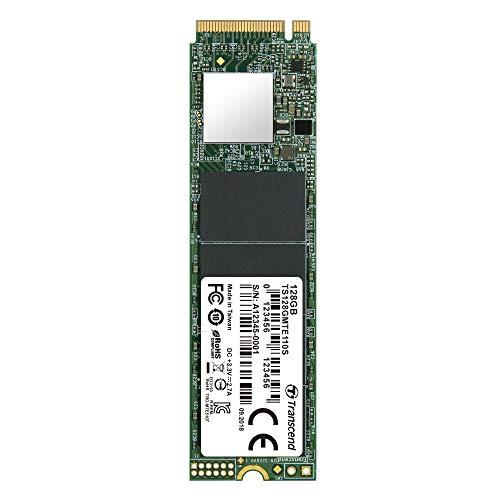 SSD Transcend NVMe PCIe Gen3 x4 MTE110S M.2 - 128Go (Vendeur Tiers)
