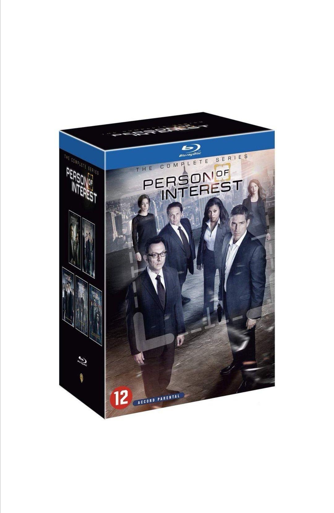 Coffret Blu-ray - Person of Interest - L'intégrale saison 1 à 5