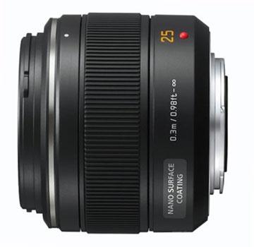 Objectif Focal fixe Leica DG Summilux 25 mm f/1.4 - Monture 4/3 (Via ODR de 100€)