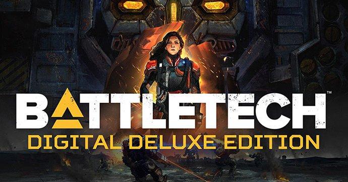 BattleTech Digital Deluxe Edition sur PC (Dématérialisé - Steam)