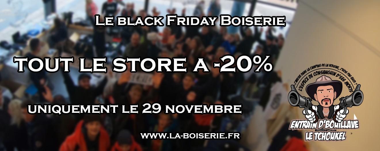 20% de réduction immédiate sur l'ensemble du site (la-boiserie.fr/)