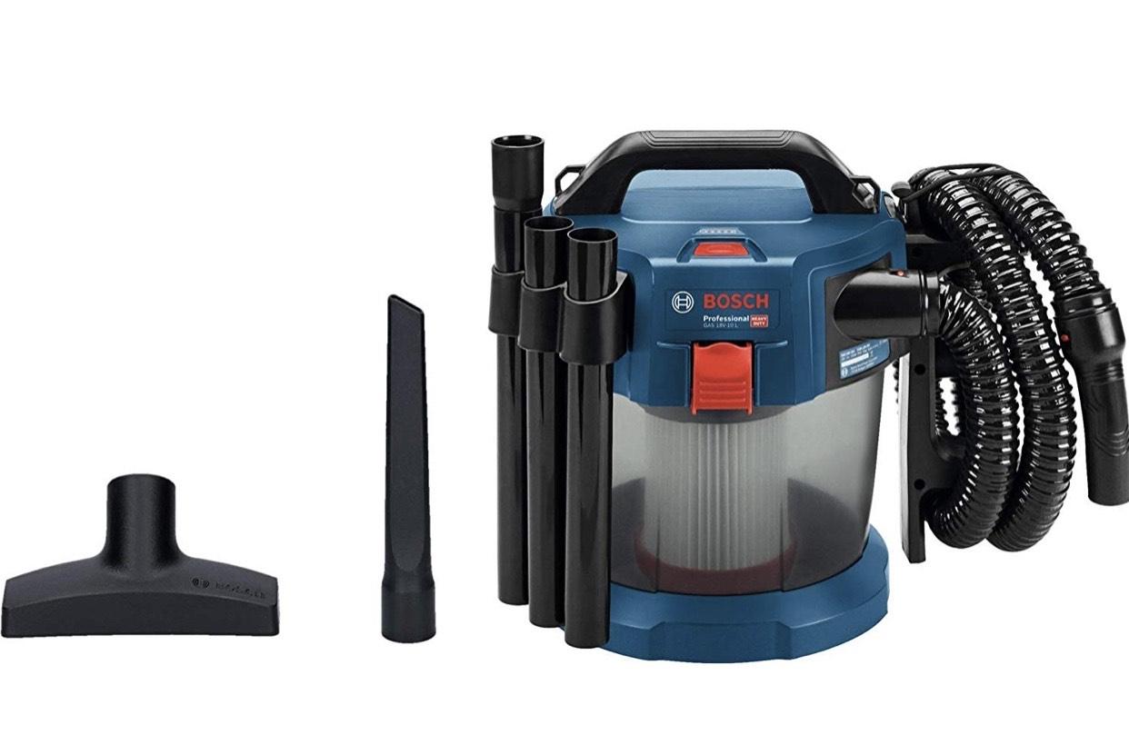 Bosch Professional Aspirateur Sans Fil GAS 18V-10 L (18 V, Contenance de la cuve brute : 10l)