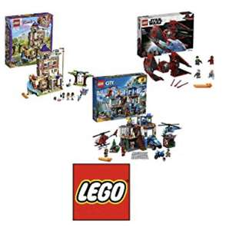 Jusqu'à -41% sur une sélection de Jeux de Construction Lego
