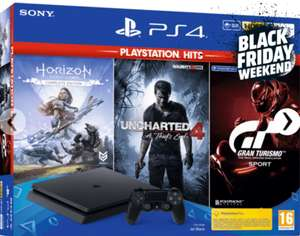 Console Sony Playstation 4 500Go + 3 jeux (Frontaliers Belgique)