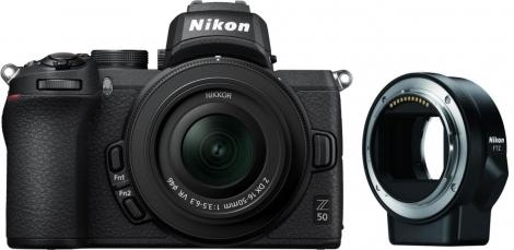 Appareil Photo Nikon Z50 + Objectif 16-50mm + bague ftz (foto-erhardt.de)