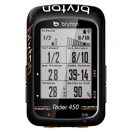 Compteur Vélo GPS Bryton 450 E