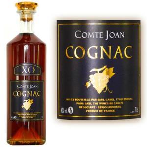 Bouteille de Cognac Comte Joan XO Hors d'âge 60 ans - 40°