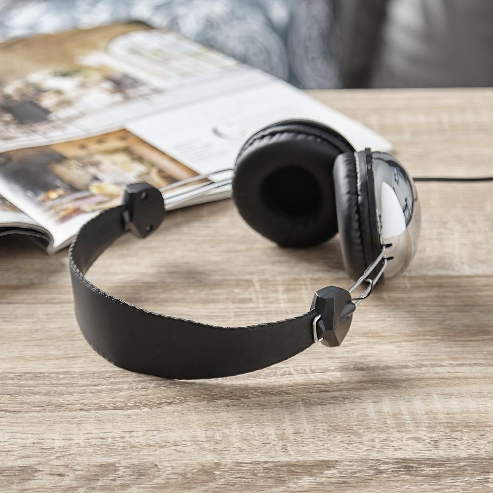 Casque audio noir et gris Homday