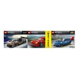 Jeu de cosntruction Lego Speed Champions : 3 Voitures n°75890, n°75891 et n°75892
