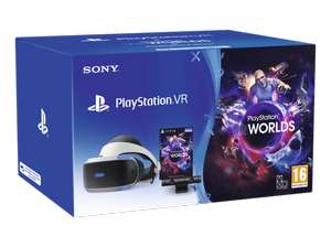 Pack Sony Playstation VR + Camera + VR Worlds (Frontaliers Suisse)