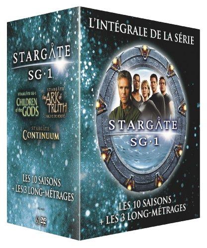Coffret DVD : Stargate SG-1 - L'intégrale des 10 Saisons + 3 Films