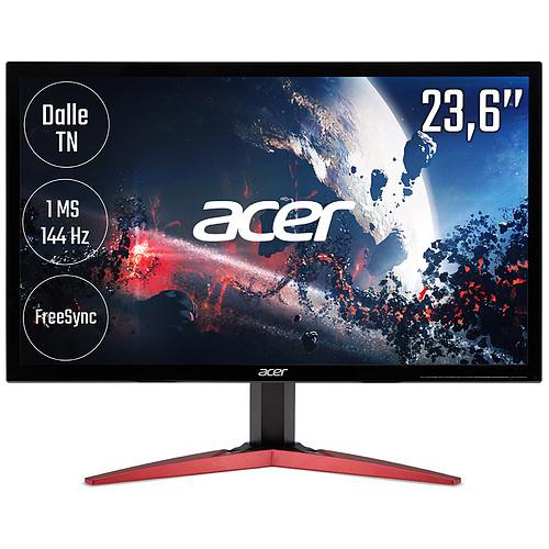"Ecran PC 23.6"" Acer Gaming KG241QPbiip - Full HD"