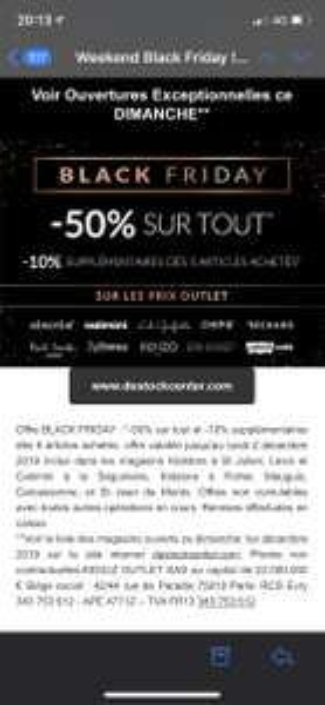 50% de réduction sur tout le magasin - Kidstore Là Séguinière (49)