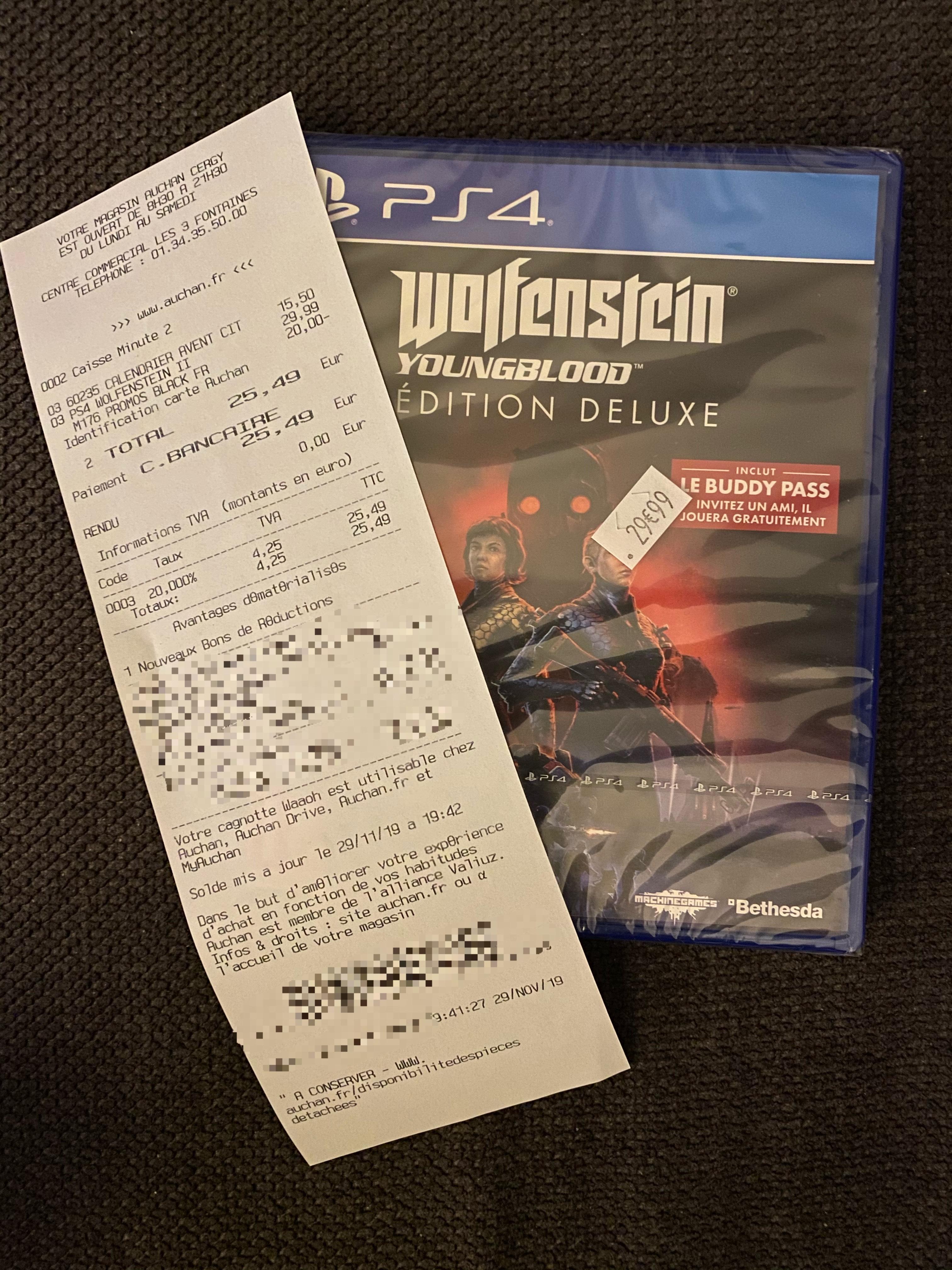 Wolfenstein Youngblood sur PS4 - Cergy (95)