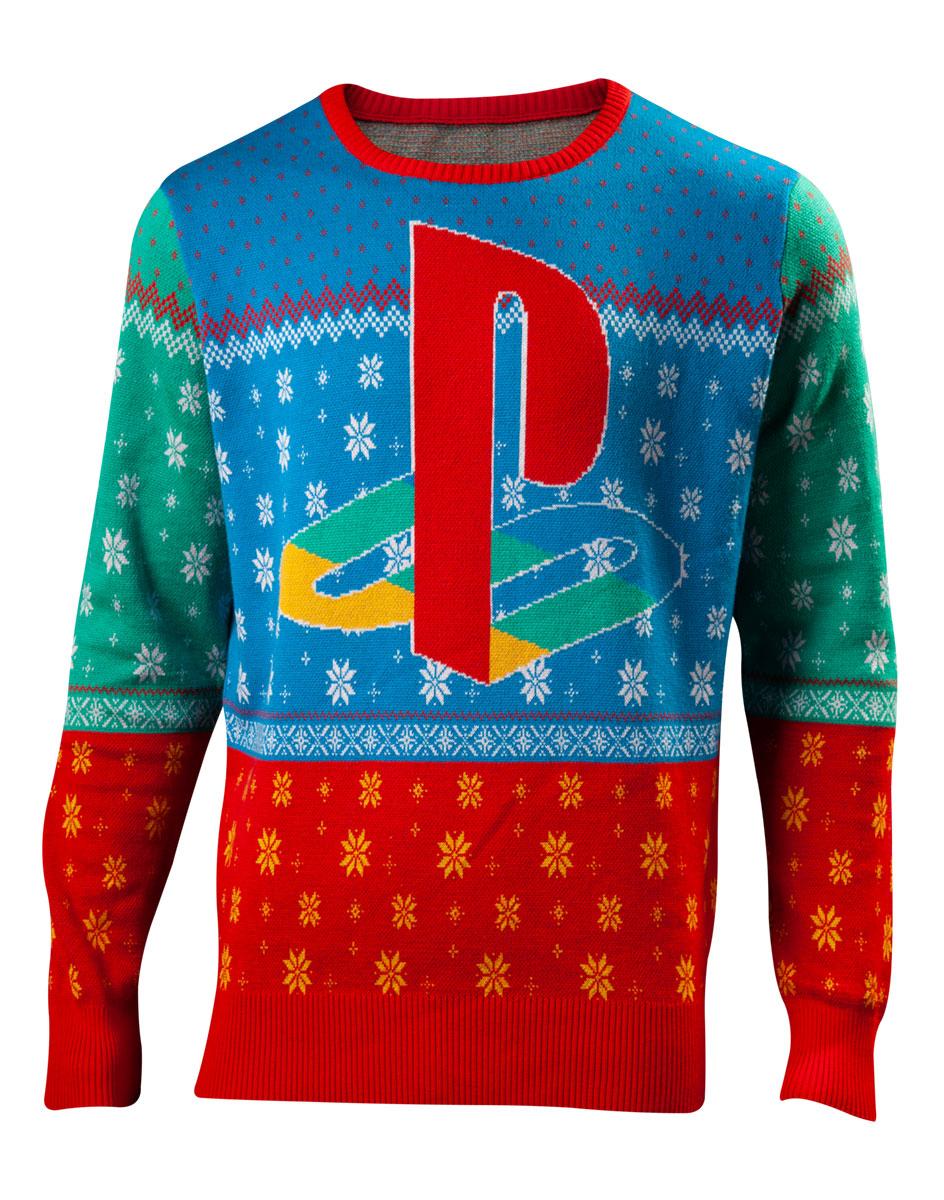 Pull de Noël « Logo japonais » PlayStation - Tailles S au XL