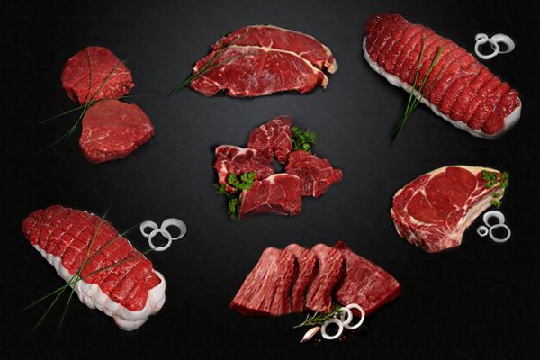 Colis dégustation de viande de boeuf race Angus - 4,75kg (comme-a-la-boucherie.com)