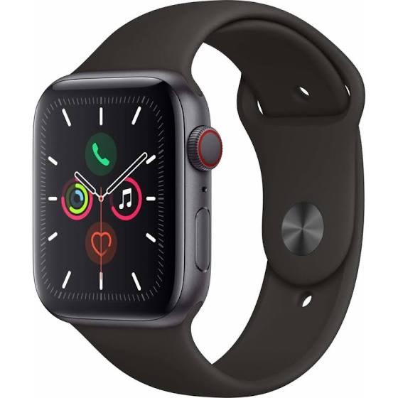 Montre connectée Apple watch series 5 - 44mm - GPS + Cellular (480€avec le code BF12100)