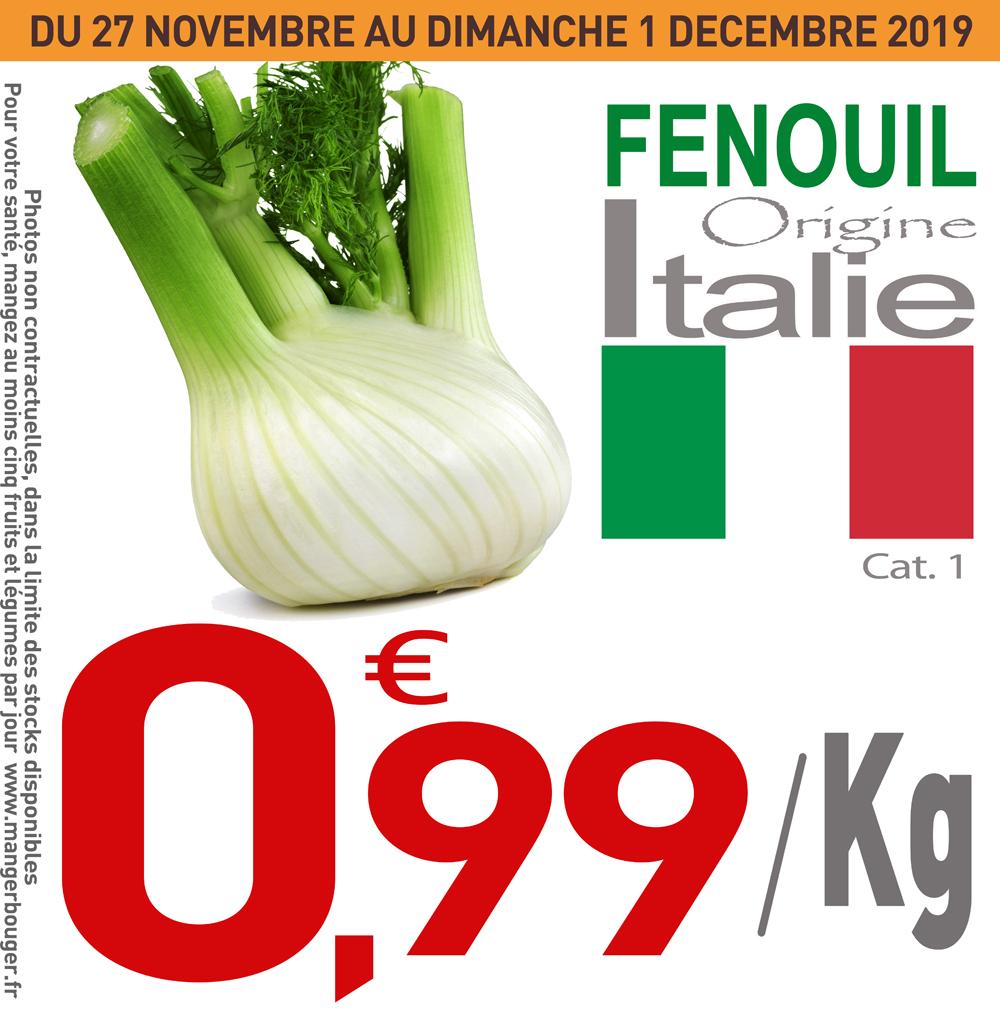 Fenouil Cat.1 (Origine Italie) - 1 Kg