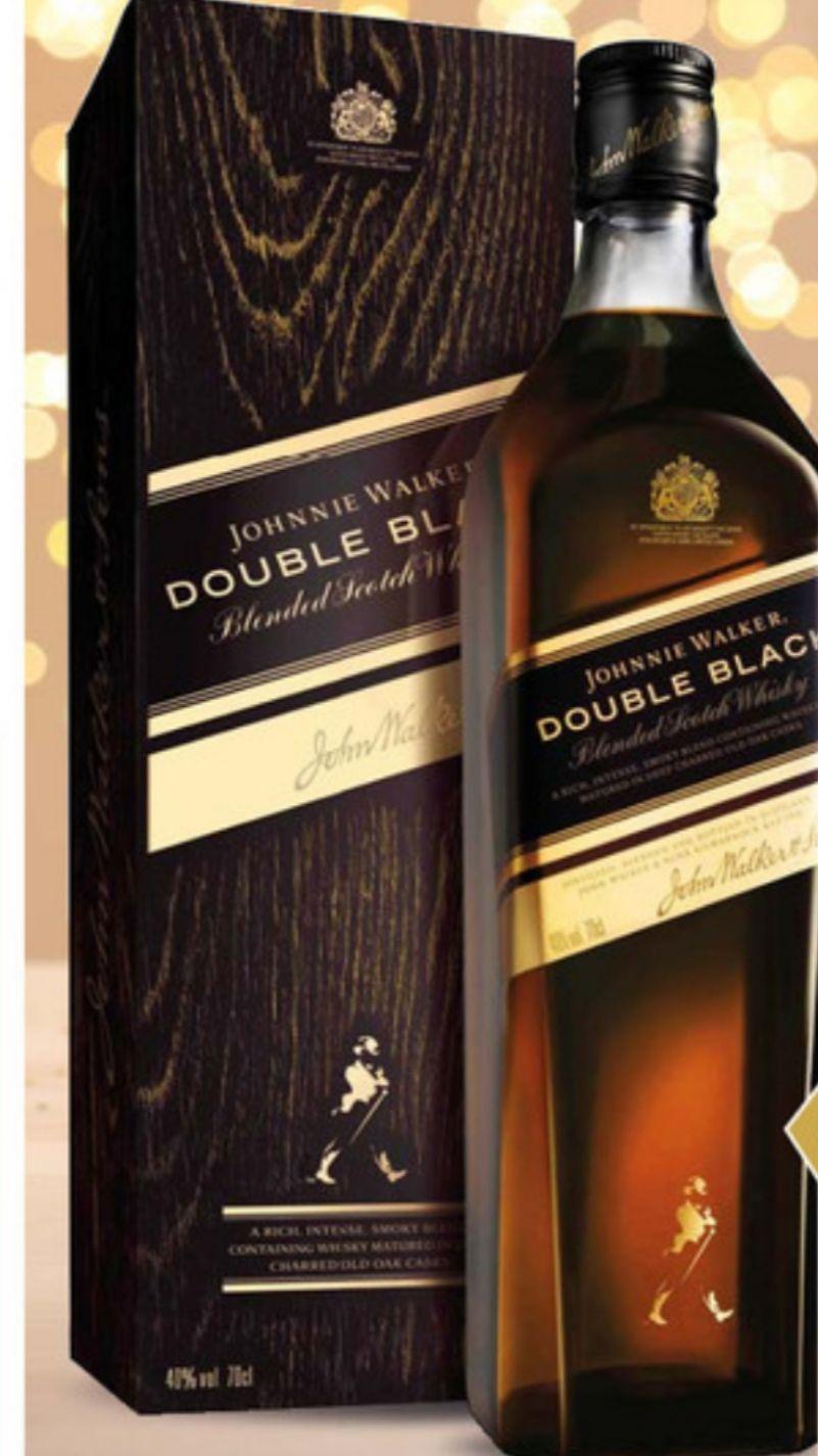Bouteille de Whisky Double Black Johnny Walker - 70cl (Via Carte de Fidélité + Bon d'achat)