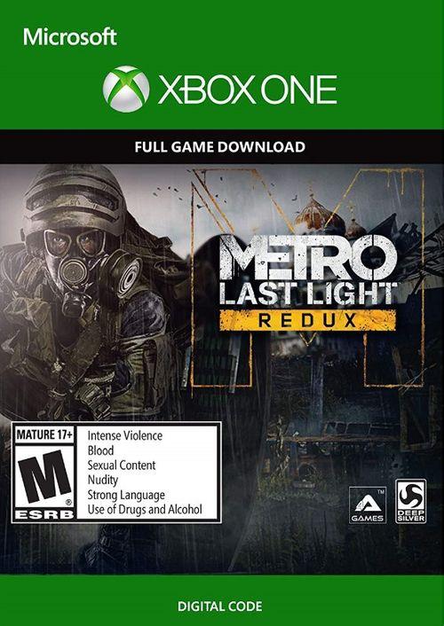 Jeu Metro Last Light Redux sur Xbox One (Dématérialisé)