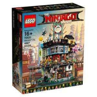 Jeu de Construction Lego La ville Ninjago 70620