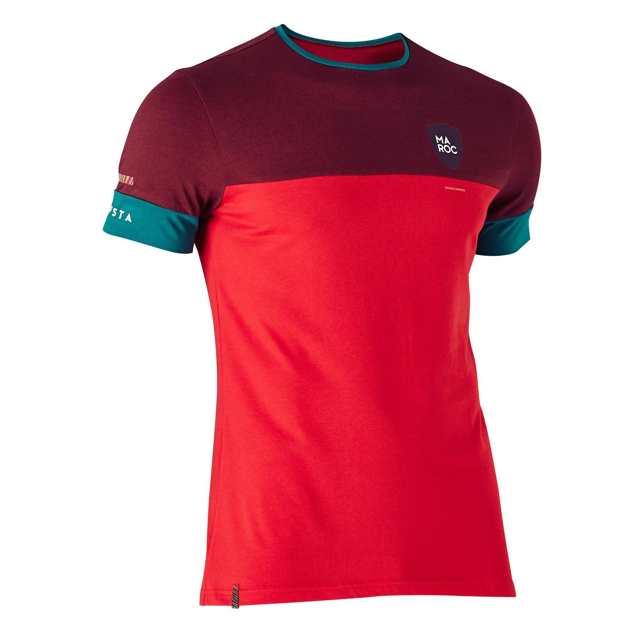 T-Shirt de Football Kipsta Maroc