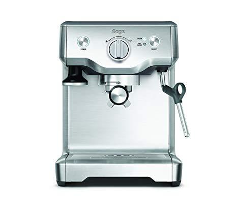 Machine à Espresso Sage BES810BSS the Duo Temp Pro - Silver