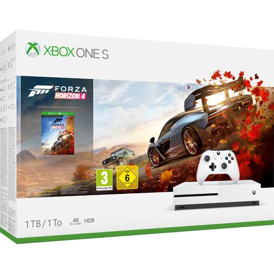 Console Microsoft Xbox One Slim 1 To + Forza Horizon 4