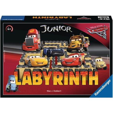 Jeu de Société Disney - Labyrinthe Junior Cars 3