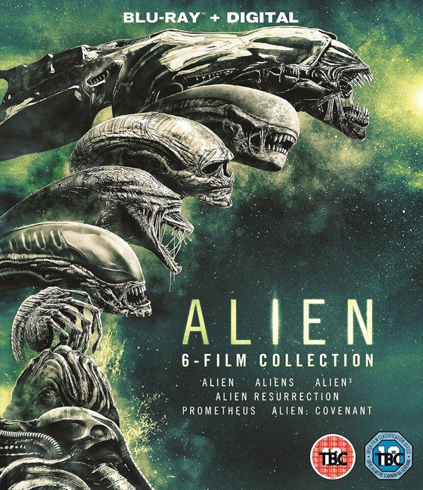 Coffret Blu-ray Alien: L'intégrale 6 films