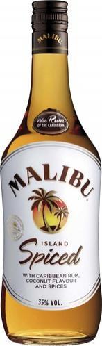 Bouteille de Malibu Island Spiced - 70 cl (BDR de 3€ + 3€ via Shopmium)