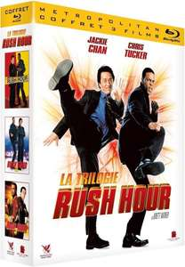 Coffret Blu-Ray Rush Hour - La Trilogie