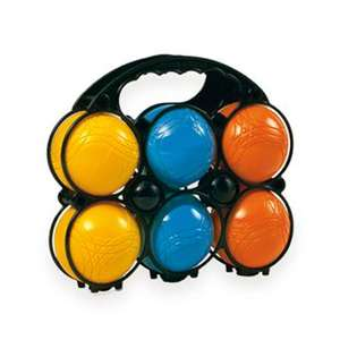 Smoby - Panier 6 boules de pétanque Primaires Enfant
