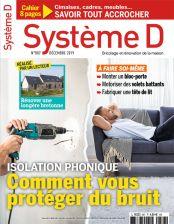 1 An d'abonnement au Magazine Système D - 12 Numéros (Papier + Numérique)