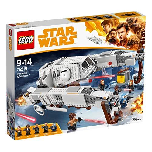 Jeu de Construction LEGO Star Wars : Véhicule Impérial AT-Hauler 829 pièces - 75219