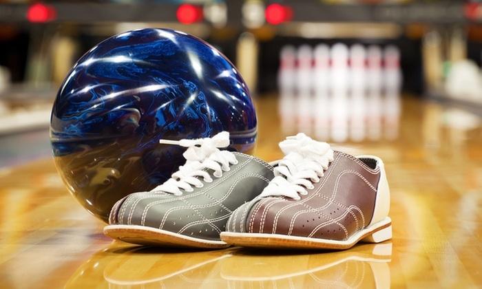 Sélection session de Bowling (location de chaussures incluses) - Ex: une session pour 6 personnes - La Norville (91)
